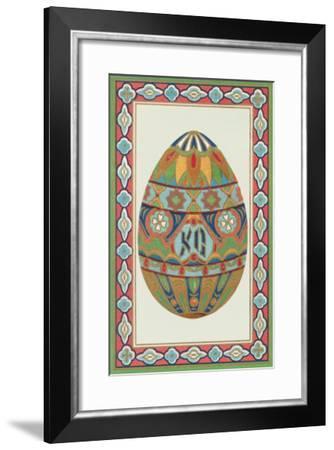 Decorative Art Egg Motif--Framed Art Print