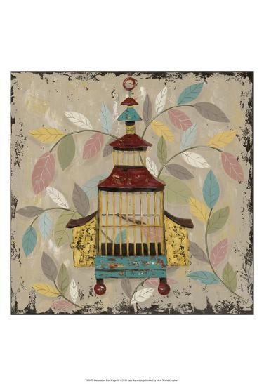 Decorative Bird Cage III-Jade Reynolds-Art Print