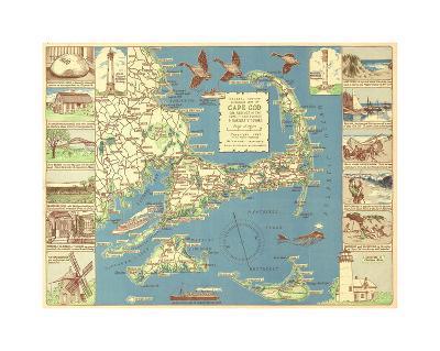 Decorative Cape Cod-Bill Cannon-Giclee Print