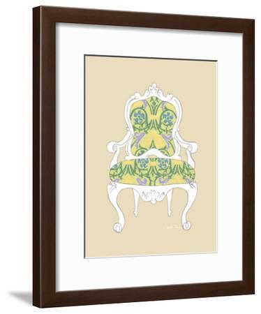Decorative Chair II-Chariklia Zarris-Framed Giclee Print