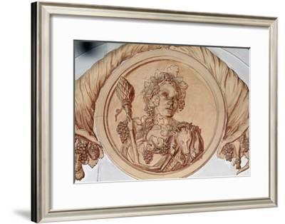 Decorative Detail from Chateau De Pierre-Levee, Olonne-Sur-Mer, Pays De La Loire, France--Framed Giclee Print