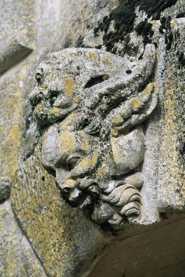 Decorative Detail from Chateau De Saint-Loup Sur Thouet, Poitou-Charentes. France--Giclee Print