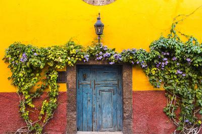 Decorative Doo on the Streets of San Miguel De Allende, Mexico-Chuck Haney-Photographic Print