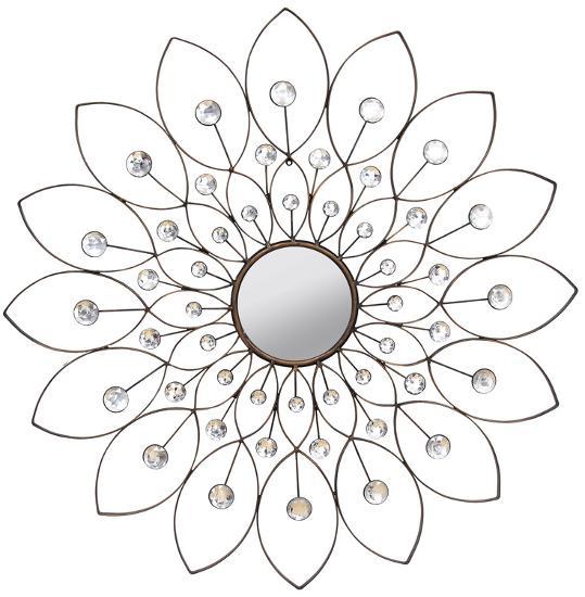 Decorative Flower Mirror--Wall Mirror