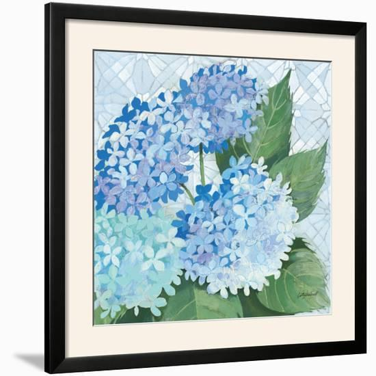 Decorative Hydrangea II-Kathrine Lovell-Framed Photographic Print