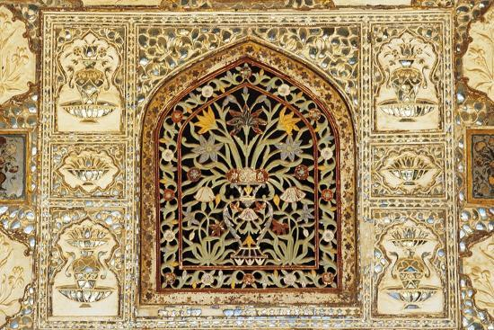 Decorative Inlaid Marble, Amer Fort or Amber Palace--Giclee Print