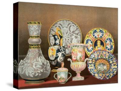 Decorative Italian Earthenware by Marquis Carlo Ginori by J. B. Waring