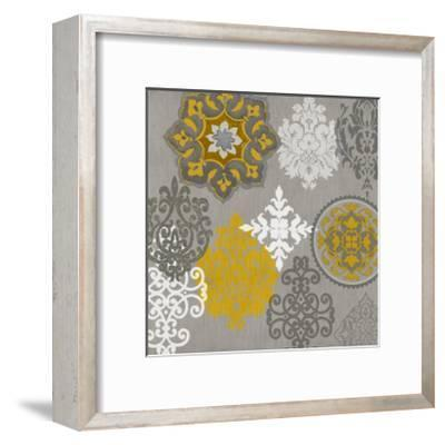 Decorative Ornaments In Gold I-Ellie Roberts-Framed Giclee Print