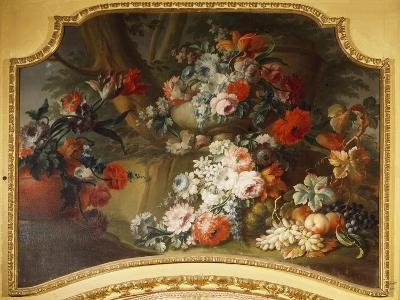 Decorative Panel with Floral Motifs, Stupinigi's Little Hunting Palace--Giclee Print