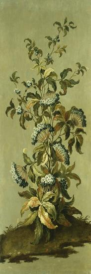 Decorative Panels with Flowers-Jean Baptiste Pillement-Giclee Print