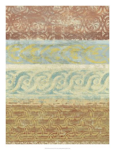 Decorative Patterns I-Alonzo Saunders-Art Print