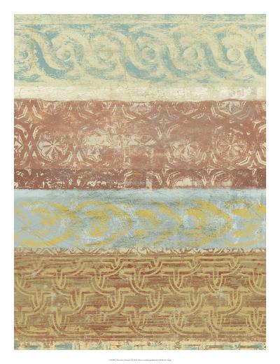 Decorative Patterns II-Alonzo Saunders-Art Print