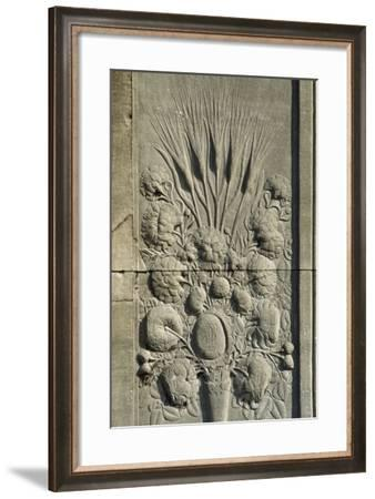 Decorative Relief, Topkapi Palace, 15th Century--Framed Photographic Print