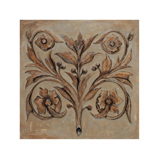 Decorative Scroll I-Pablo Segovia-Giclee Print
