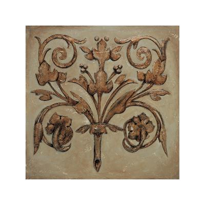 Decorative Scroll II-Pablo Segovia-Giclee Print