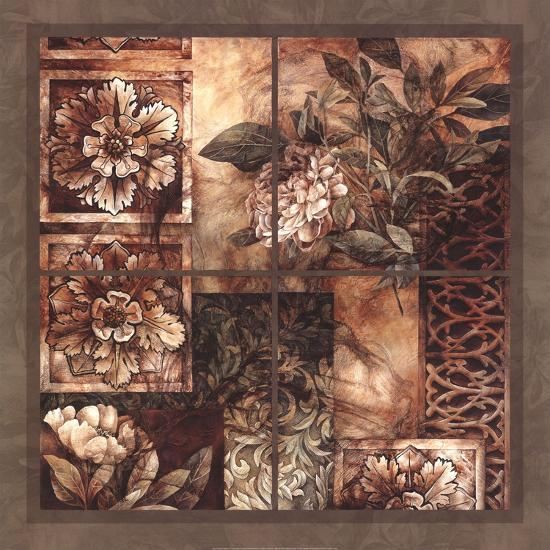Decorative Textures-Linda Thompson-Art Print