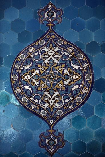 Decorative Tiles, Yesil Turbe--Giclee Print