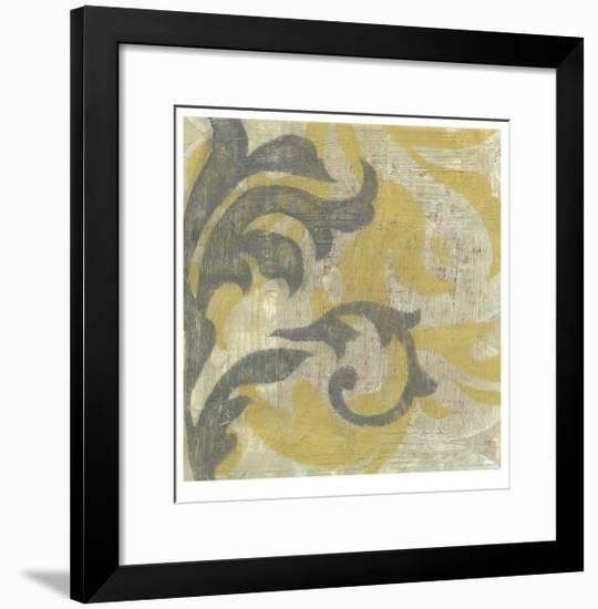 Decorative Twill II-Jennifer Goldberger-Framed Limited Edition
