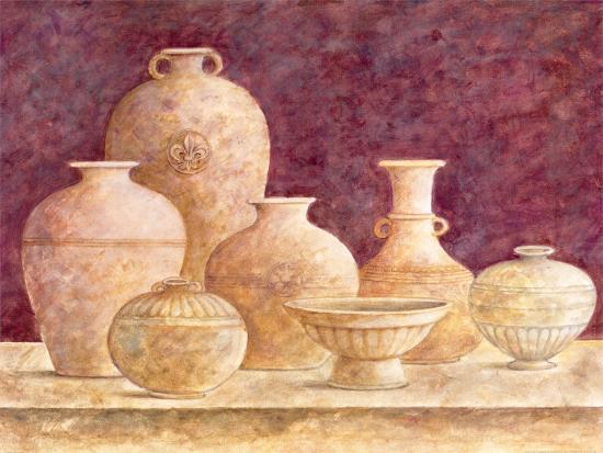 Decorative Vases II-G^p^ Mepas-Art Print