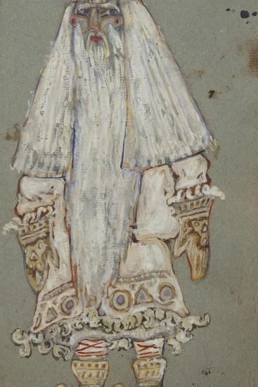 Ded Moroz. Costume Design for the Theatre Play Snow Maiden by A. Ostrovsky, 1912-Nicholas Roerich-Giclee Print
