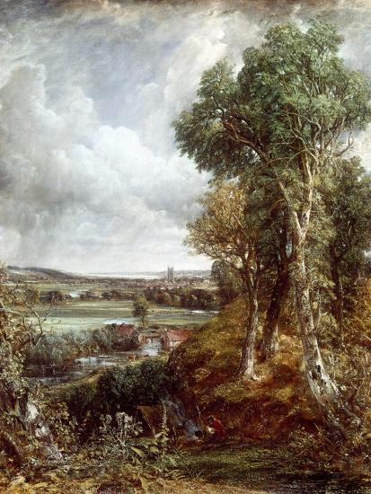 Dedham Vale-John Constable-Giclee Print