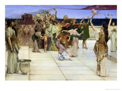 Dedication to Bacchus, 1889-Sir Lawrence Alma-Tadema-Giclee Print