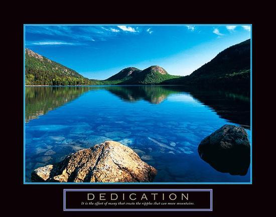 Dedication-Unknown-Art Print