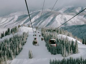 Aspen Mountain, Aspen, Mountain, USA by Dee Ann Pederson
