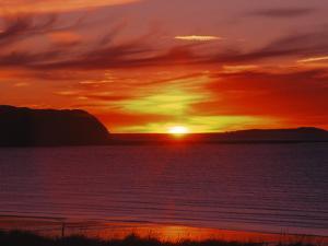 Sunrise in Katmai National Park, Alaska, USA by Dee Ann Pederson