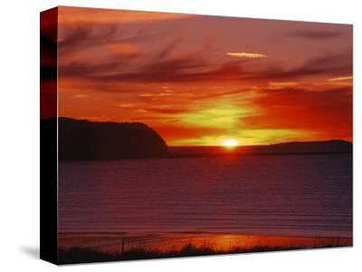 Sunrise in Katmai National Park, Alaska, USA