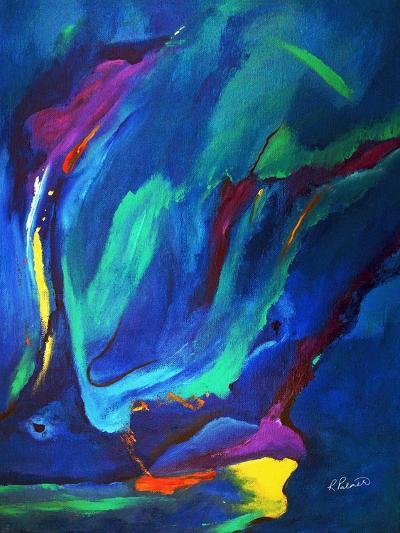 Deep Blue Thoughts-Ruth Palmer-Art Print