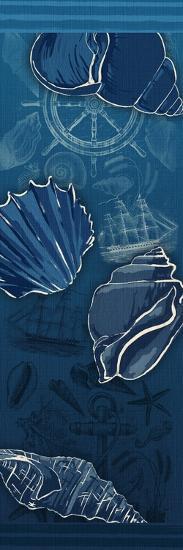 Deep Blue-Jace Grey-Art Print