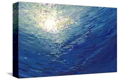 Deep Dive-Margaret Juul-Stretched Canvas Print