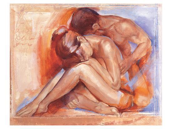 Deep Emotion-Talantbek Chekirov-Art Print