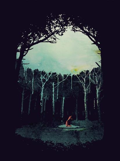 Deep in the Forest-Robert Farkas-Giclee Print