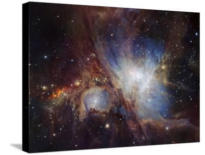 Deep infrared view of the Orion Nebula from HAWK-I-ESO-Stretched Canvas Print
