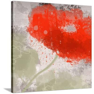 Deep Red-Irena Orlov-Stretched Canvas Print
