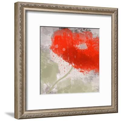 Deep Red-Irena Orlov-Framed Art Print