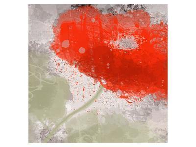 Deep Red-Irena Orlov-Art Print