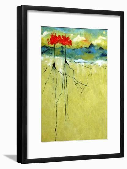 Deep Roots-Ruth Palmer-Framed Art Print