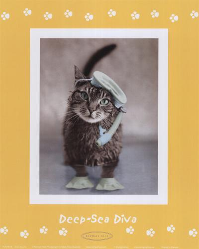Deep-Sea Diva-Rachael Hale-Art Print