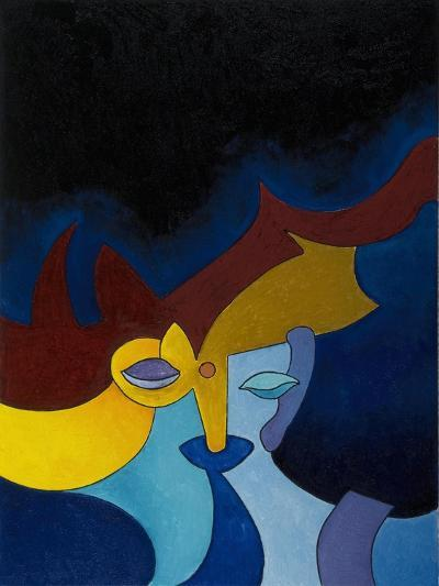 Deep Silence, 2008-Jan Groneberg-Giclee Print