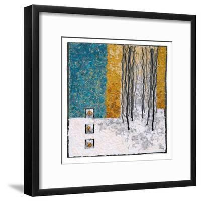 Deep Snow IV-Lorraine Roy-Framed Art Print