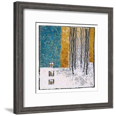 Deep Snow IV-Lorraine Roy-Framed Art Print