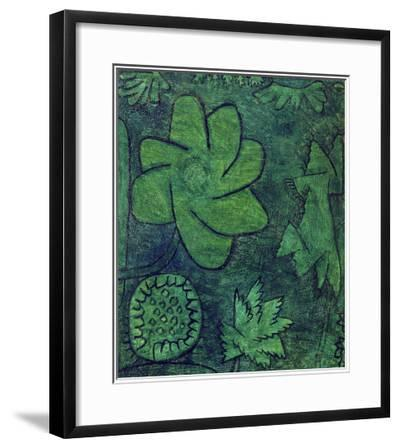 Deep Within the Woods, 1939-Paul Klee-Framed Giclee Print
