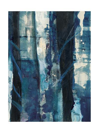 Deep Woods I Indigo-Albena Hristova-Art Print