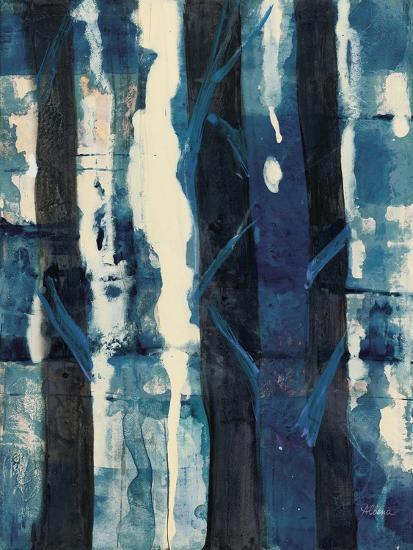 Deep Woods II Indigo-Albena Hristova-Art Print