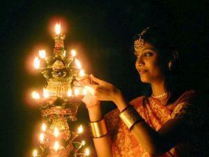 Deepawali Lamps