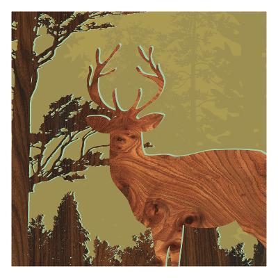 Deer 1-jefdesigns-Premium Giclee Print