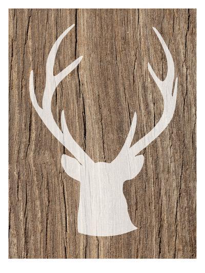 Deer 5-Ikonolexi-Art Print